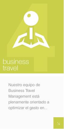 Nuestro equipo de Business Travel Management está plenamente orientado a optimizar el gasto en viajes